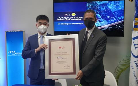 ITLA recibe certificación Huawei ICT Academy
