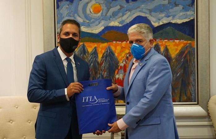 Rector del ITLA y Presidente del Senado establecen alianza para capacitar personal